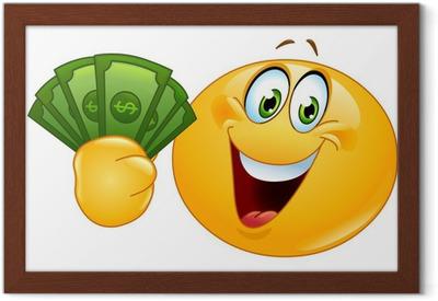 Emoticon Con I Dollari