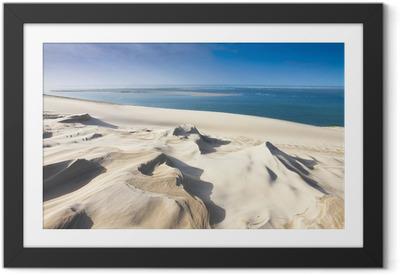 Obrazek w ramie Dune du Pyla niedaleko Arcachon