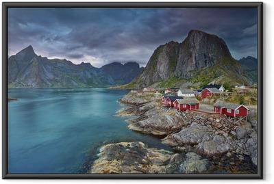 Obrazek w ramie Norwegia