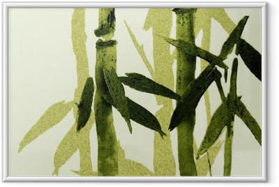 Bambu / rakenne Kehystetty kuva