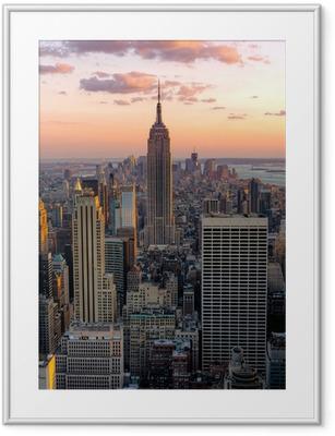 Obrazek w ramie New York, Empire State Building