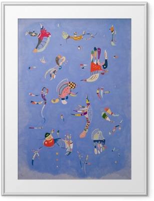 Wassily Kandinsky - Taivaansininen Kehystetty kuva