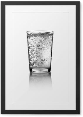 Obrazek w ramie Glass of water