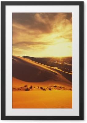 Obrazek w ramie Pustynia