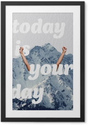 Bild i Ram Idag är din dag