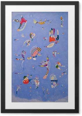 Obrazek w ramie Wassily Kandinsky - Błękitne niebo