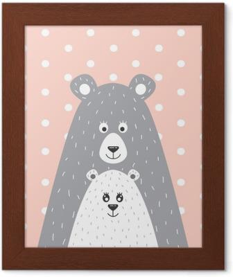 Obraz na plátně Medvěd a malý medvěd • Pixers® • Žijeme pro změnu 1cadf72a760