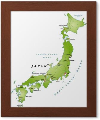 Cartina Muta Del Giappone.Giappone Cartina Muta Con Le Citta E Guinea Akw