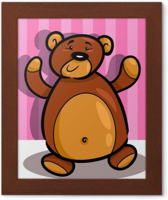 Cartone animato teddy bear stock vector freeimages