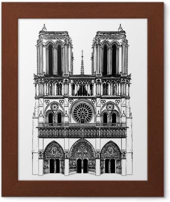 Notre Dame De Paris Disegno.Drawing Of Notre Dame Wall Mural Pixers We Live To Change