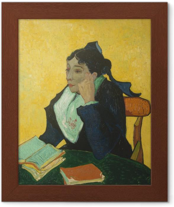 Poster en cadre Vincent van Gogh - L'Arlésienne - Reproductions