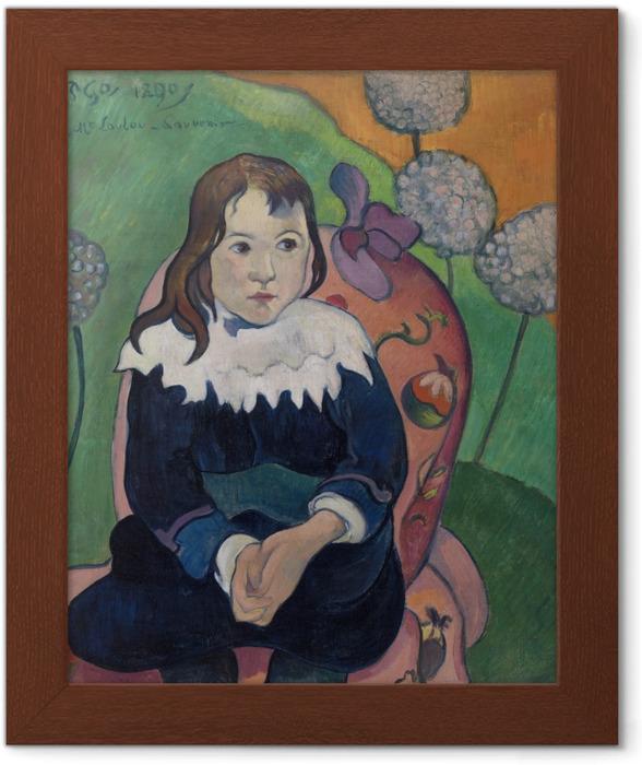 Póster com Moldura Paul Gauguin - M. Loulou - Reproduções