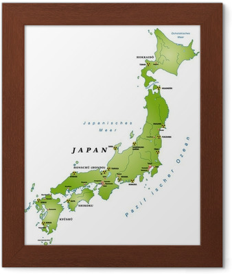 Cartina Muta Del Giappone.Adesivo Per Porte Giappone Cartina Muta Con Le Citta E Guinea Akw Pixers Viviamo Per Il Cambiamento