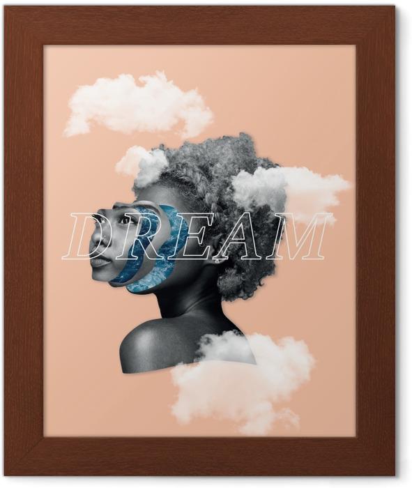 Plakat w ramie Marzenie - Motywacyjne