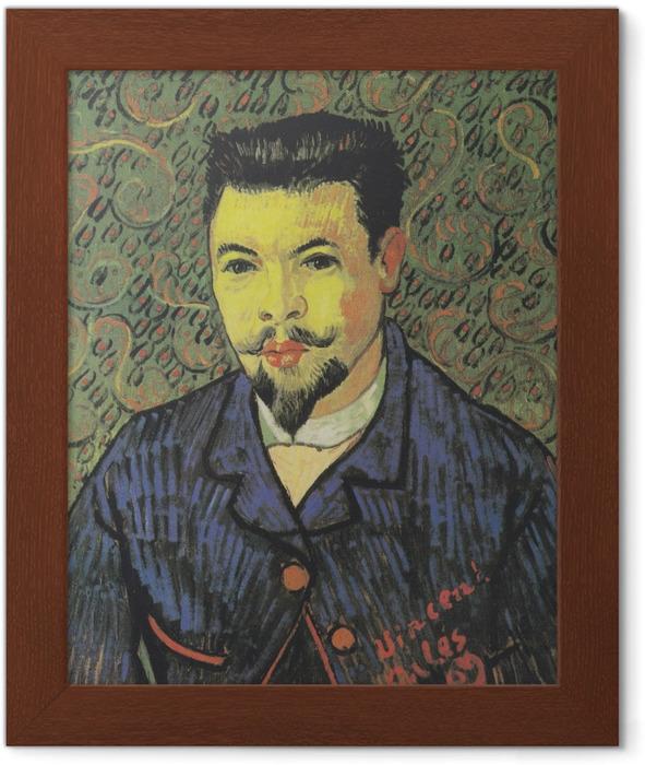 Vincent van Gogh - Portrait of Doctor Felix Rey Framed Poster - Reproductions