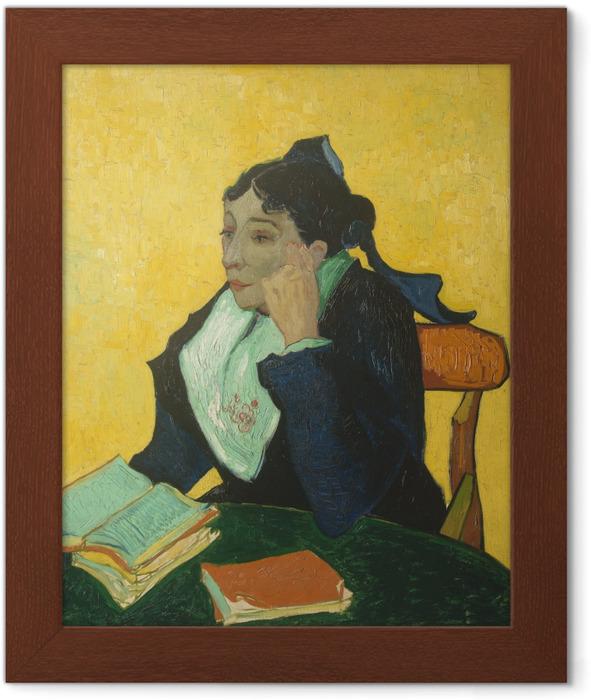 Vincent van Gogh - L'Arlésienne Framed Poster - Reproductions