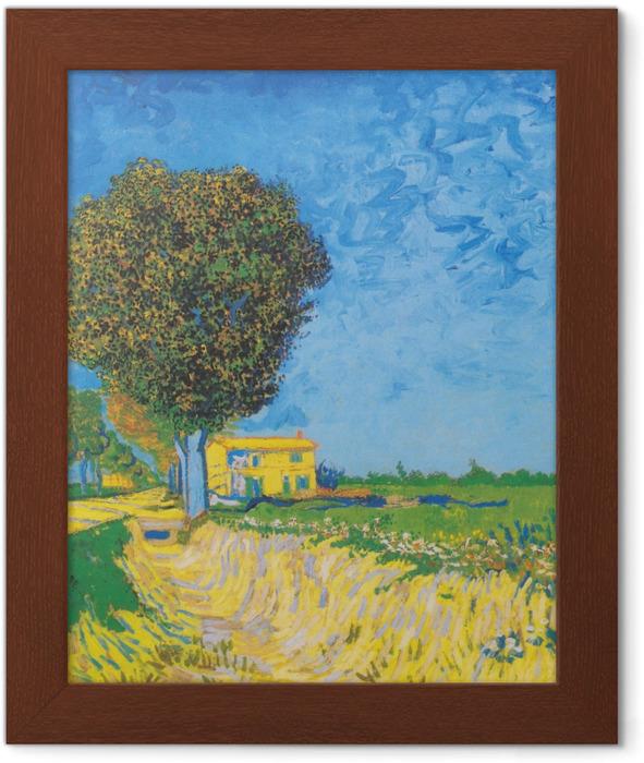 Vincent van Gogh - Avenue near Arles Framed Poster - Reproductions