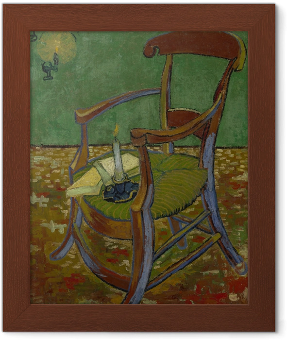 Vincent van Gogh - Gauguin's Armchair Framed Poster - Reproductions