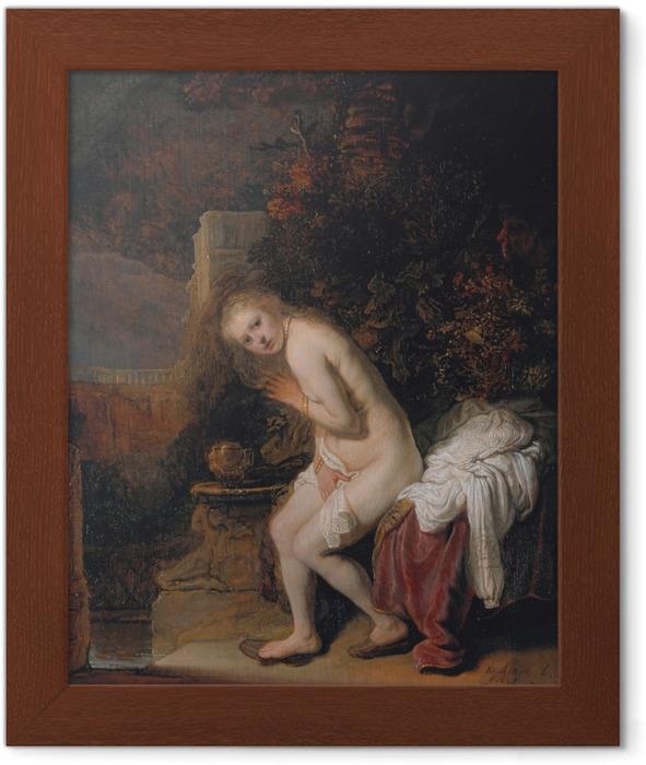 Plakat w ramie Rembrandt - Zuzanna i starcy - Reprodukcje