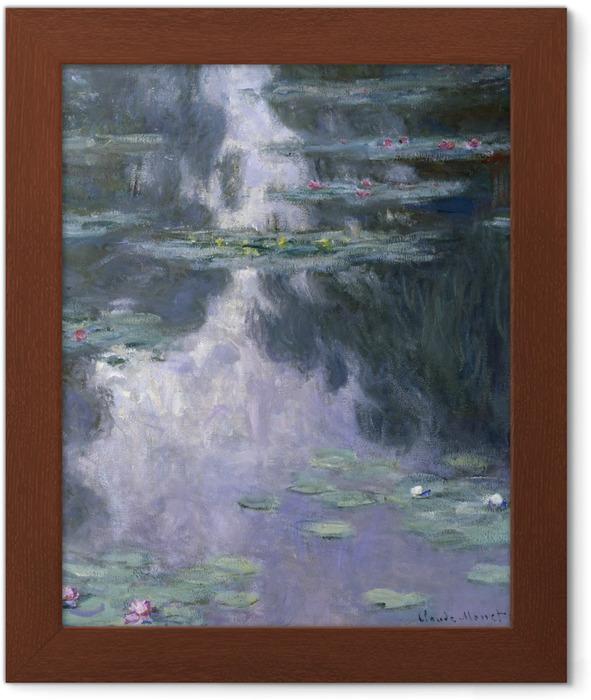 Plakát v rámu Claude Monet - Nympheas - Reprodukce