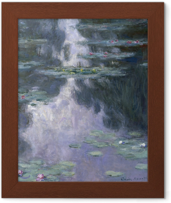 Poster en cadre Claude Monet - Nymphéas - Reproductions