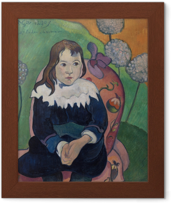 Paul Gauguin - M. Loulou Framed Poster - Reproductions