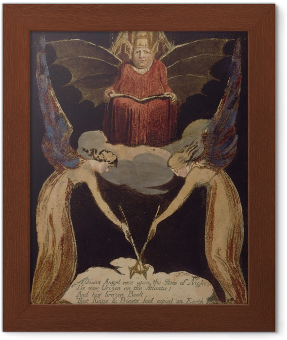 Póster Enmarcado William Blake - Jerusalén - Reproducciones