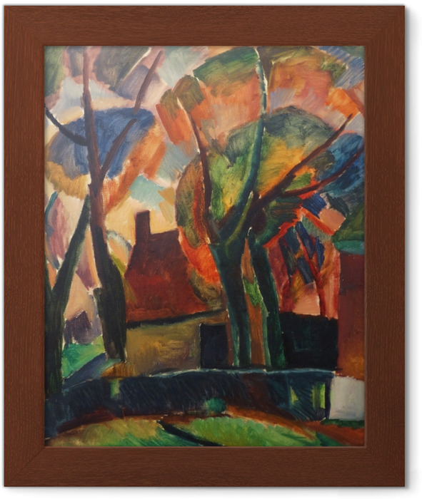 Leo Gestel - A Farm in Beemster Framed Poster - Reproductions
