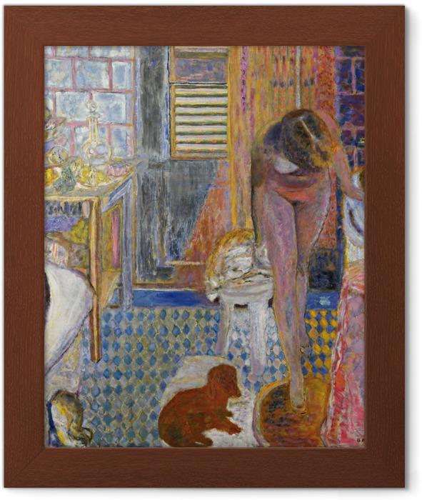 Poster in Cornice Pierre Bonnard - Il bagno - Reproductions