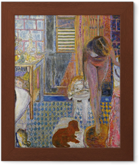Póster Enmarcado Pierre Bonnard - El baño - Reproductions