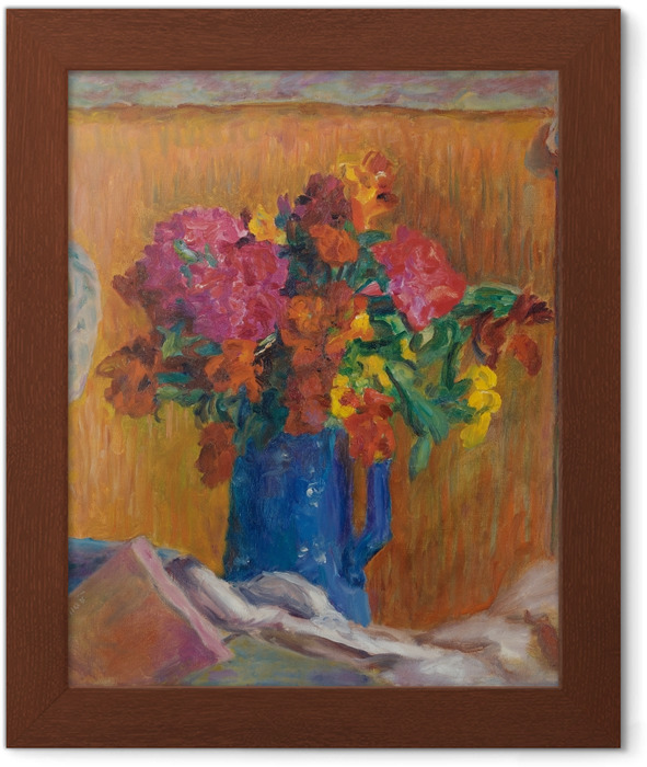Pierre Bonnard - The Blue Jar Framed Poster - Reproductions
