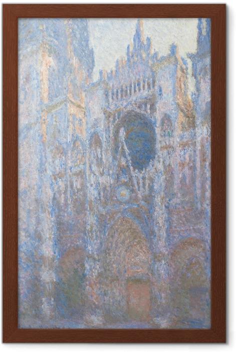 Plakat w ramie Claude Monet - Katedra w Rouen - Reprodukcje
