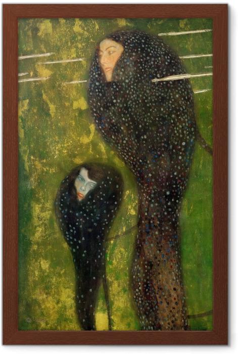 Poster en cadre Gustav Klimt - Sirènes - Reproductions