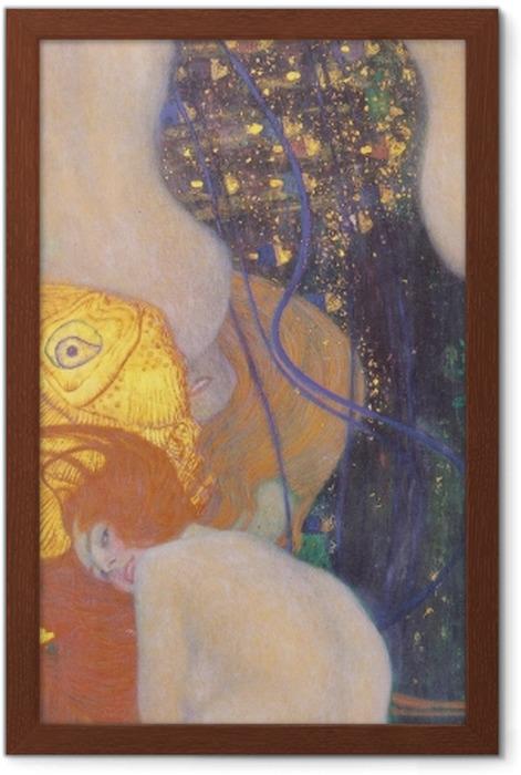 Gustav Klimt - Goldfish Framed Poster - Reproductions
