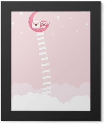 Owl Framed Poster