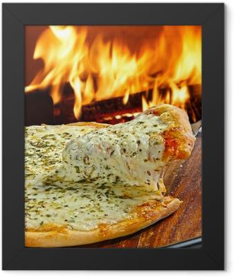 Pizza Framed Poster