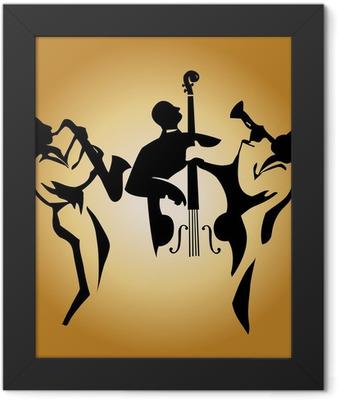 jazz trio Framed Poster