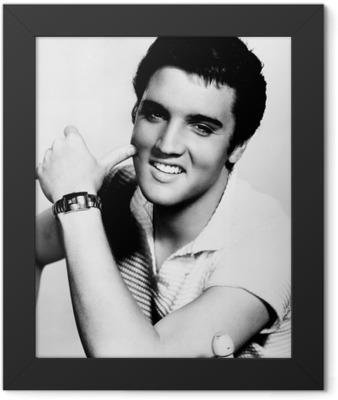 Elvis Presley Framed Poster