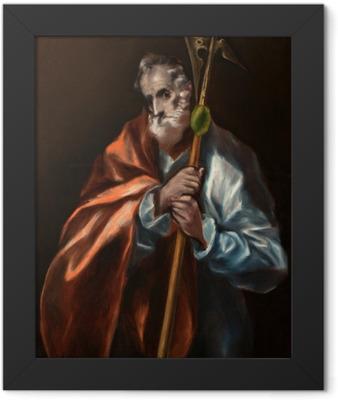 El Greco - The Apostole Thaddeus Framed Poster