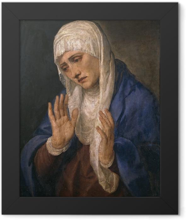 Plakat w ramie Tycjan - Mater Dolorosa - Reprodukcje