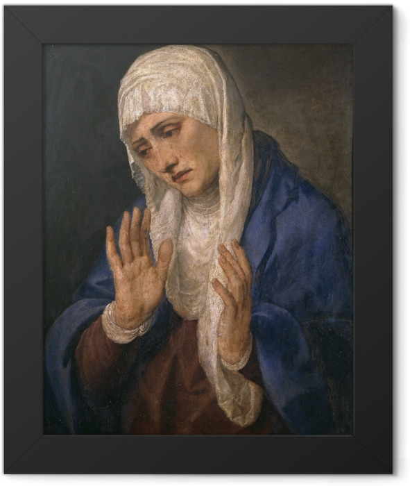 Poster en cadre Titien - Mater Dolorosa - Reproductions
