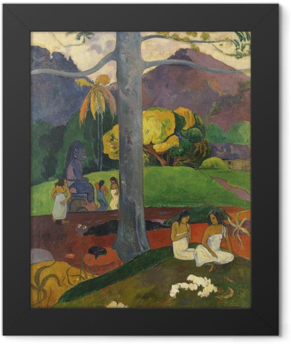 Plakat w ramie Paul Gauguin - Mata mua (Dawne czasy) - Reprodukcje