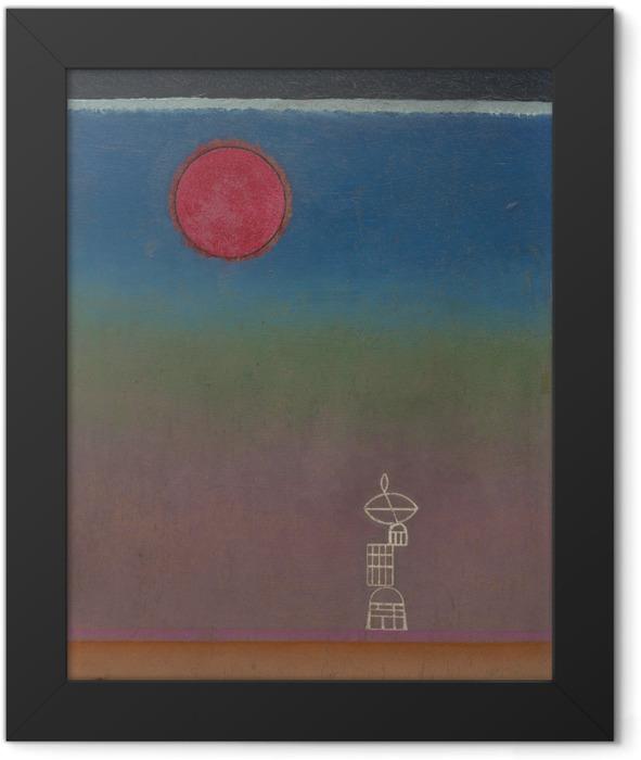 Gerahmtes Poster Wassily Kandinsky - Weit weg - Reproduktion