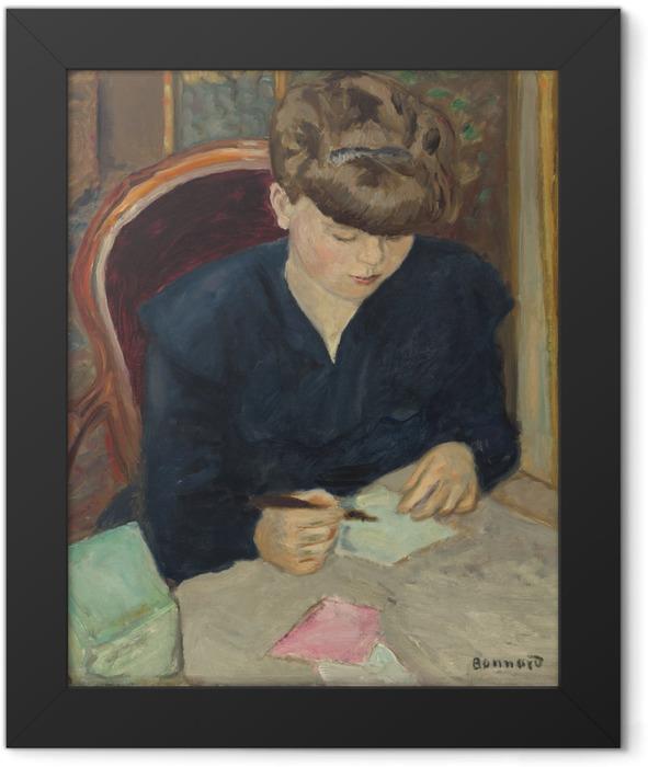 Plakat w ramie Pierre Bonnard - List - Reproductions