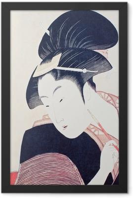 浮世絵 Framed Poster