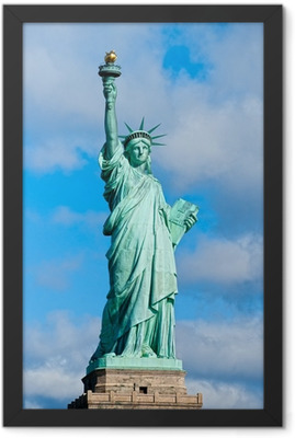 Statue of Liberty. New York, USA. Framed Poster