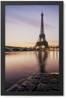Tour Eiffel Paris France Framed Poster