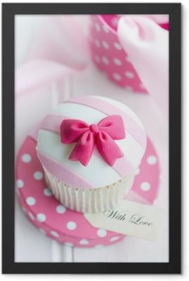 Cupcake gift Framed Poster