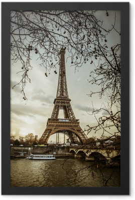 View of the Eiffel Tower Framed Poster