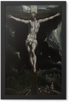 El Greco - The Crucifixion Framed Poster